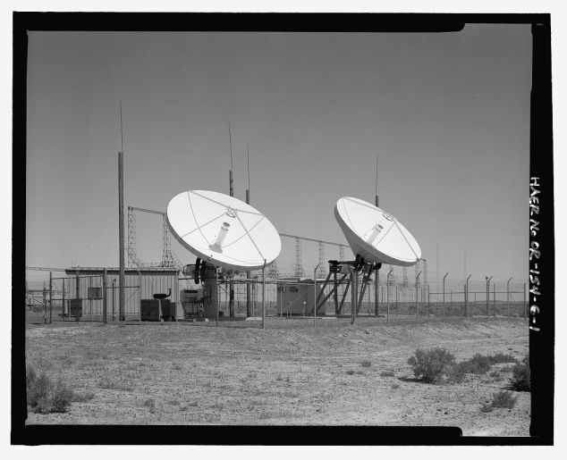 Over-the-Horizon backscatter radar network, Christmas Valley Radar Site. Lake County, OR